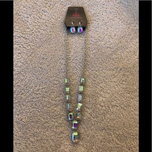 Paparazzi Right To Remain Sparkly Multi necklace
